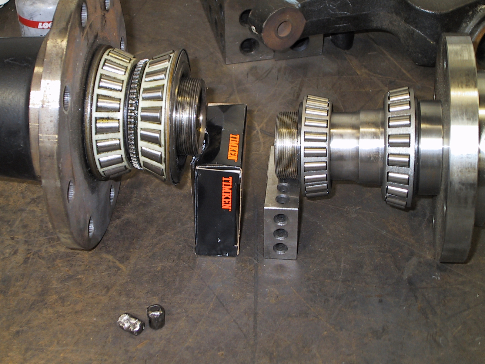 2005 ford f250 4x4 front wheel bearing replacement