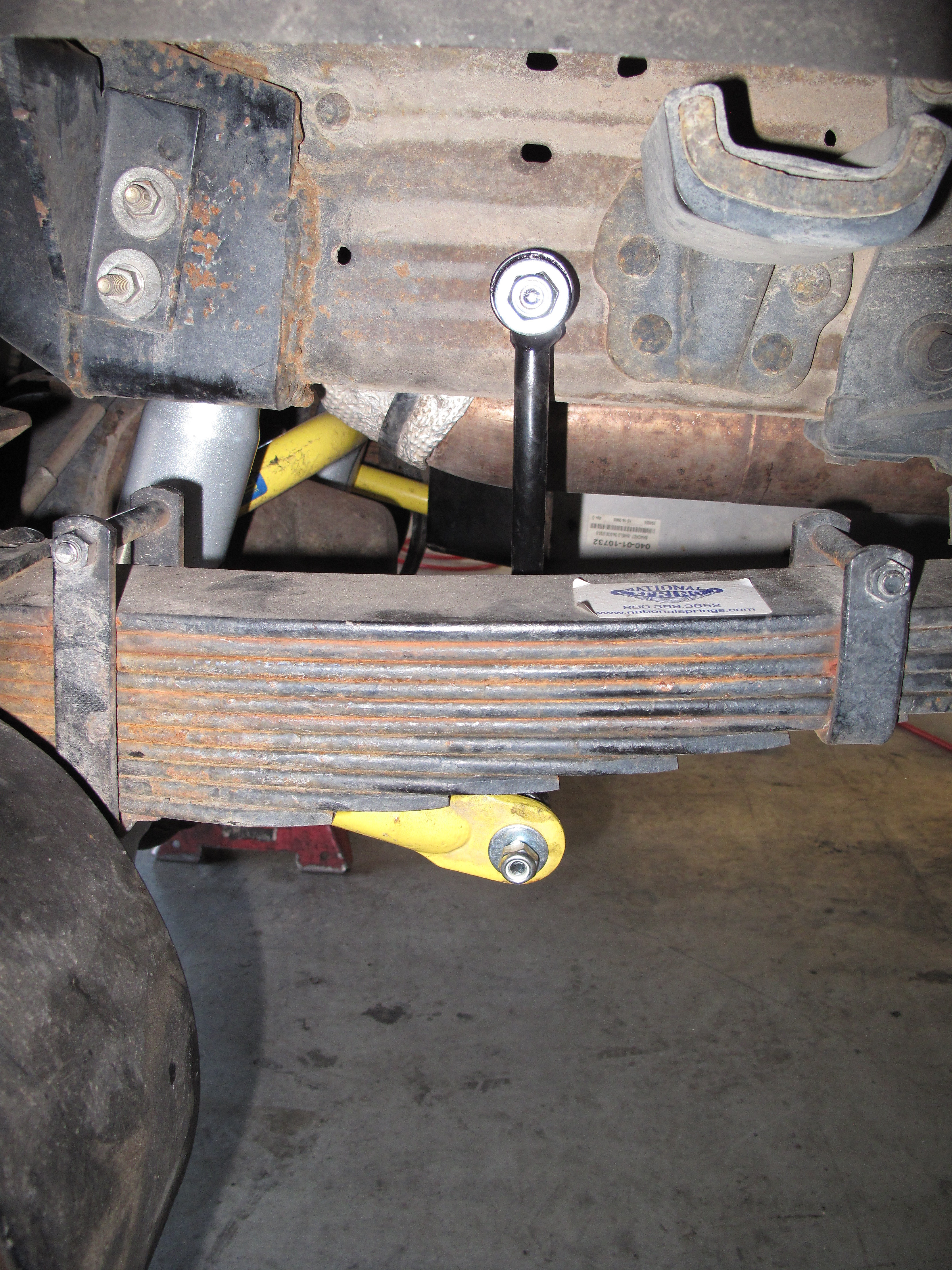 Turtle Expedition 187 Hellwig Products Rancho Shocks Ken