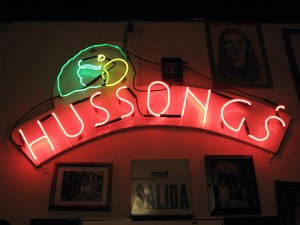 No trip into Baja California is complete with out a stop a the old Hussong's Cantina, established in 1892.