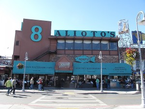 The famous Alioto's Waterside Café was founded in 1925.