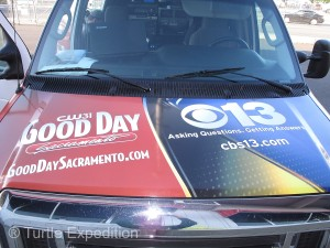 Good Day Sacramento is a Live local morning news program that's quite popular in Sacramento. They have a possible viewing audience of 1.5 million.