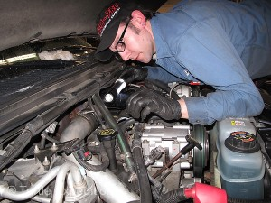 The ATS Diesel Performance technician gave our Aurora 3000 Turbo a through visual inspection.