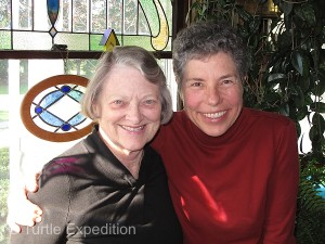 "Still great friends after many years, Alice was Monika's first ""host mother"" when she was on a teacher exchange program back in 1976/77."