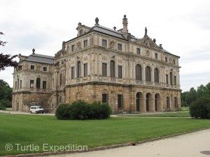 The Palace in the Grossen Garten was slowly being restored to its original condition when Augustus the Strong reigned.