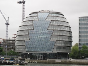 "Some times dubbed ""the Easter Egg"" arteches from around the world have pushed design of buildings in London to its limits."