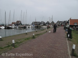 Since much of Holland is really below sea level, the ever present canals are a way of life.