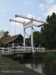 Even today, canals are used for transportation so drawbridges are a necessary feature to keep traffic moving.
