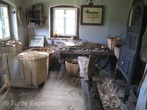 Basked weaving was also an important industry in Steffen.