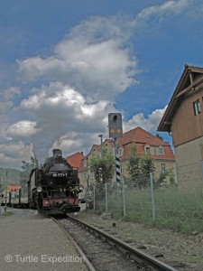 Weisseritztal was rather an ordinary German town that happened to have an interesting train running through it.