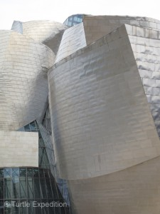 The titanium skin of the Guggenheim Museum pushes the limits of engineering and architecture.