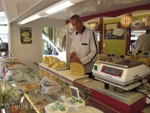 Wonderful cheeses are a French specialty, but too many to choose from.