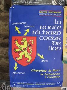 The Châtau de Jumilhac-le-Grand is located on Richard the Lion Heart's Route.