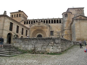 The abbey of Santa and Asturias de Santillana has its origin in the early Middle Ages (8th or 9th century AD).