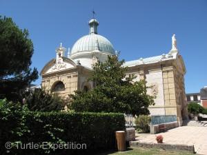 The St. Vincent de Paul sanctuary is a peaceful place to linger.