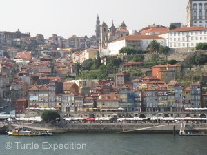 The old-world riverfront district of Porto is a UNESCO World Heritage site.