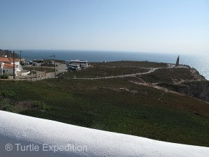 Cabo da Roca is the most western point of the Eurasian landmass.