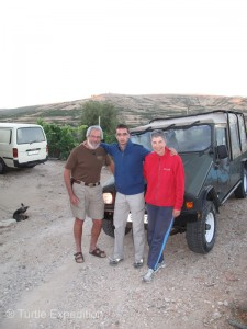 Patrick Cipriano is the proud owner of a Portuguese 4X4 UMM. He was excited to see our truck.