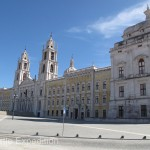 The National Palace in Mafra is a monumental Baroque and Italianized Neoclassical palace/monastery. It was built during the reign of King John V (1707–1750), one of the biggest buildings constructed in Europe in the 18th century.