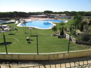 Spain has many modern RV campgrounds, often with pools, tennis, and a restaurant.