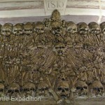 "The interior of the ""Bones Chapel"" should be enough to make you want to be cremated, not buried."