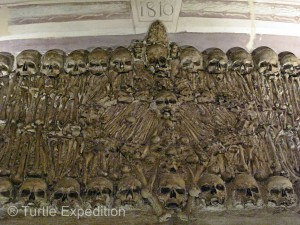 """The interior of the """"Bones Chapel"""" should be enough to make you want to be cremated, not buried."""