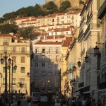 From downtown we could see the ramparts of the Castelo de São Jorge.
