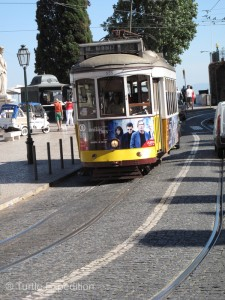 The old cable cars are a great way to get around town, but they can be very crowded which makes a perfect environment for the pickpockets.