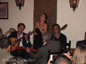 Friends invited us to a Fado dinner performance. The soul gripping Fado music is the soul of Portugal.