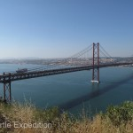 The 25 of April Suspension bridge is quite a notable Landmark of Portugal's capital.