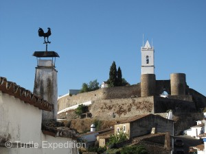 The walled town of Monsaraz shows the influence of the different cultures that have occupied it.