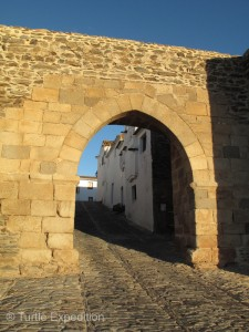Many of the more recent walls and fortifications of the old town have been nicely restored.