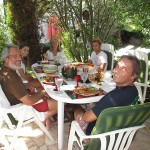 We enjoyed many fabulous meals with the Soares's family. Rita was a gourmet cook.