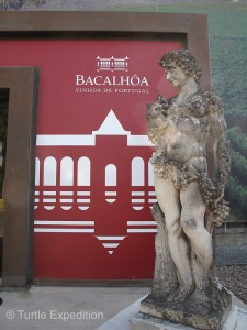 More than a great winery, the Bacalhôa museum had among other items a fabulous African art collection dedicated to Nelson Mandela.