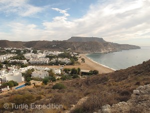 The little town of Agua Amarga was a friendly place, reminiscent of some beach towns along Mexico's Pacific coast.