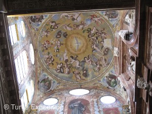 "The dome above the main ""chapel"" was awe inspiring."