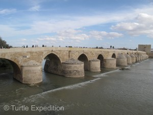 Some of the arches on the Roman Bridge are still part of the original construction from the early 1st century BC.