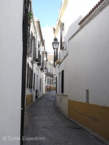 The narrow streets of Córdoba invite exploring.