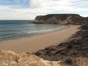 This part of the Costa Blanca Coastline is dotted with numerous coves and beaches.