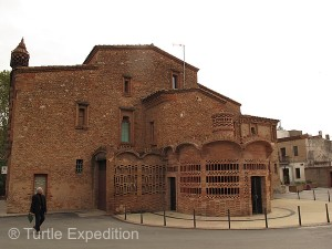 Colonia Guell 06 300x225 Colónia Güell, Cataluña, Spain 10/13