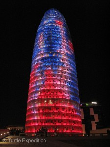 Torre Agda, affectionately called the Easter Egg.