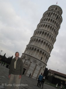 The Tower of Pisa has been stabilized. Gary hasn't.