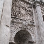 Detailed carving on the surviving arches, columns and sculptures showed the level of artistic ability of the city.