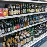 Despite Georgia's reputation of great wine, most market shelves were stocked with juice and beer to our disappointment.