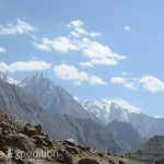 The views of the distant snowcapped peaks were even more impressive than we had seen on the Wakhan Corridor.