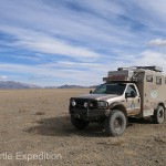 The grasslands of Western Mongolia must be one of the world's largest campgrounds. Anywhere we parked was home.