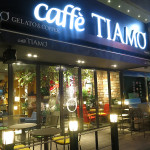 Caffé TIAMO became our favorite spot for high-speed internet connections. Of course, we always drank a Caffé Americano.