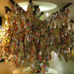 The Tree Of Hope at the Goseong Demilitarized Zone Museum gave people a way to share their wish for peace.