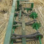 This rice straw sewing machine was quite ingenious.