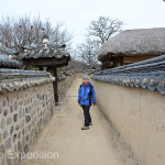 As we wandered through the narrow dirt streets of Hahoe we stepped back in time. Little has changed in 600 years.