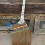 A standard tool in every home, we loved the beautiful brooms.